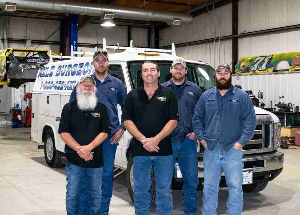 Axle Surgeon Of Oklahoma - Who we Are - Our Company Staff Photo